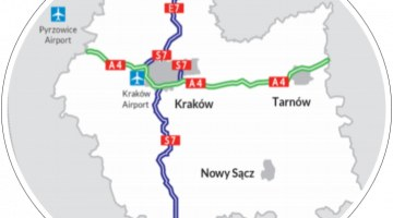 Malopolska transport links